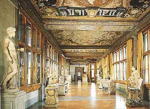 La Gallerie degli Uffizi