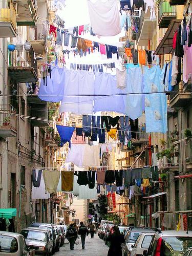 Naples en Italie